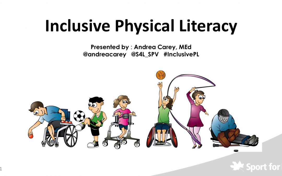 Inclusive Physical Literacy Webinar